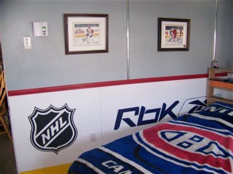 chambre canadien d 233 coration chambre hockey canadien