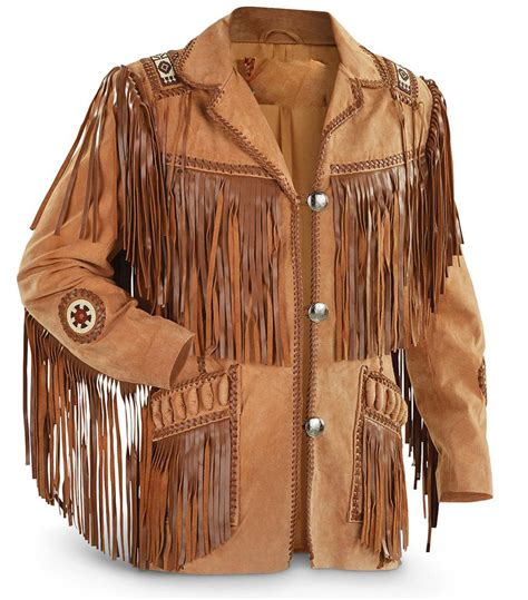 Handmade Leather Clothing - customized s handmade suede brown western leather