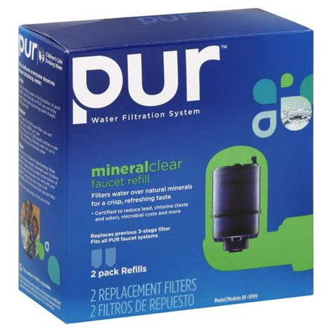 pur replacement filters mineral clear faucet refill 2