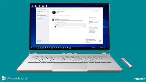Microsoft Di Macbook Yammer L App Social Network Aziendale Di Microsoft