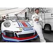 Patrick Dempsey Races Martini Car At Porsche Mobil 1 Supercup