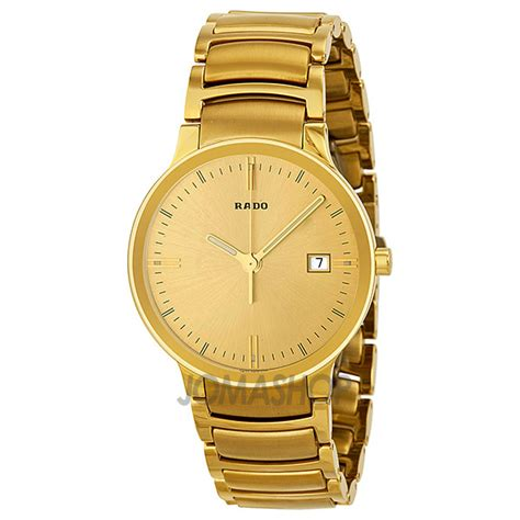 mens gold plated watches