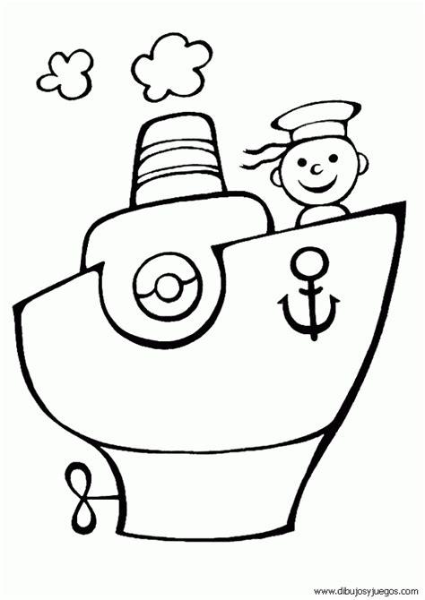 capitanes de barcos para colorear barcos para colorear infantiles imagui