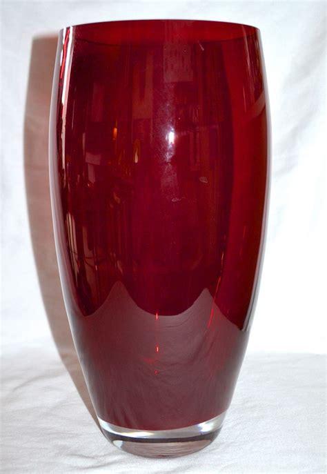 Bombay Vase large glass poland made for bombay company vase from rubylane sold on ruby