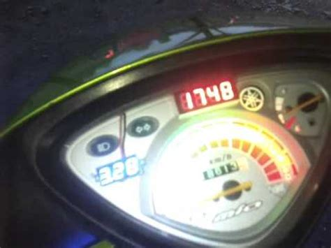 Lu Led Motor Mio Sporty modifikasi led lu hazard led panel digital motor mio mp4