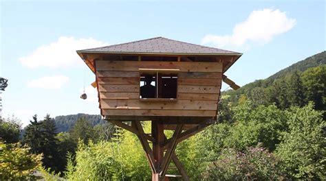 ein baumhaus ohne baum bauen