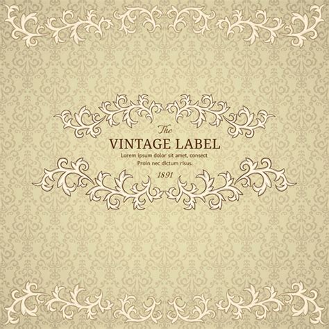vintage retro backgrounds 16 free vector graphic download