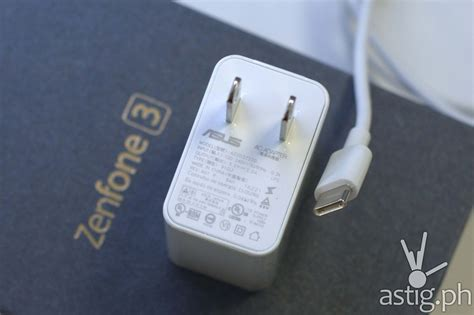 Adaptor Charger Asus Zenfone asus zenfone 3 review unboxing on impressions astig ph