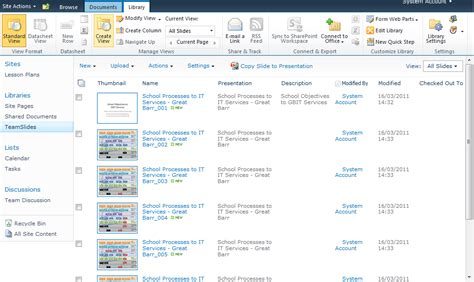Sharepoint 2010 Slide Library Upload Powerpoint Slides Into Sharepoint 2010 Slide