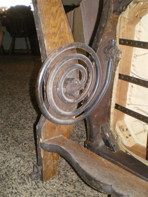 Rocking Chair Springs by A H Schram Coil Rocker 1897 Collectors Weekly