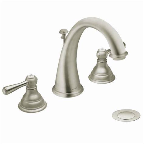 Kingsley Plumbing t6125bn moen kingsley series two handle widespread