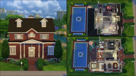 Modern Open Floor House Plans the sims 4 gallery spotlight simsvip