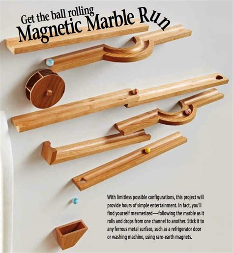 wooden wooden marble run plans  plans