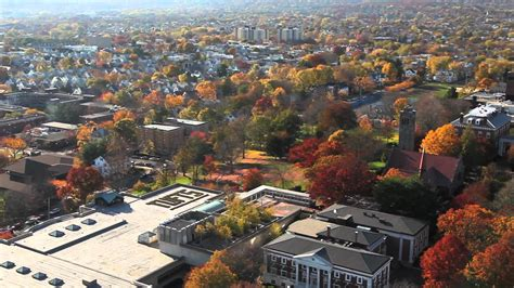 Tufts Find Tufts Autumn Aerial Views Medford Somerville Cus