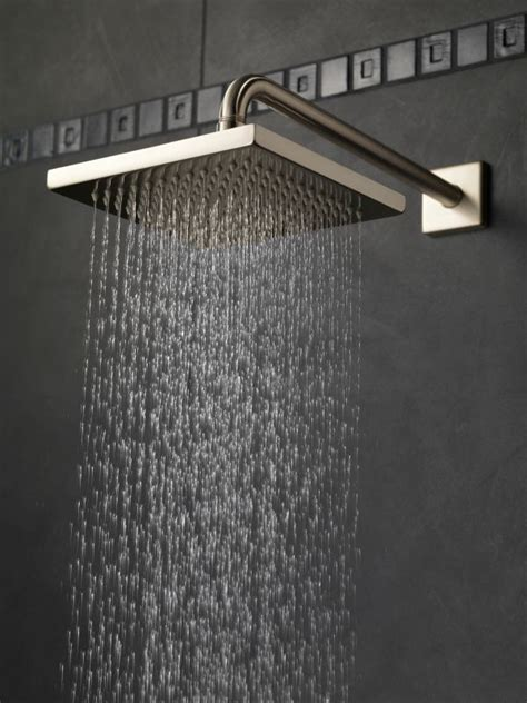 Rainfall Shower by Faucet 57740 Ss In Brilliance Stainless By Delta