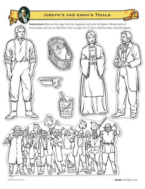 coloring pages joseph smith s first vision joseph smith first vision coloring page