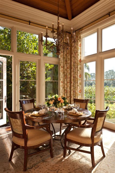 curtains for dining area large window curtains family room traditional with brown