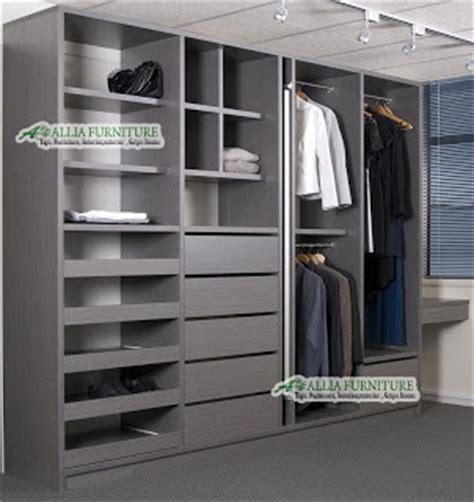 Lemari Tanam Dinding model tipe dari lemari pakaian minimalis allia furniture
