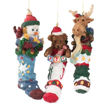 stuffed stocking christmas ornament christmas ornaments