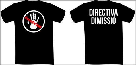 imagenes camisetas negras la afici 243 n lucir 225 camisetas negras contra la directiva
