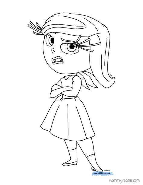 inside out christmas coloring pages disney characters free colouring pages