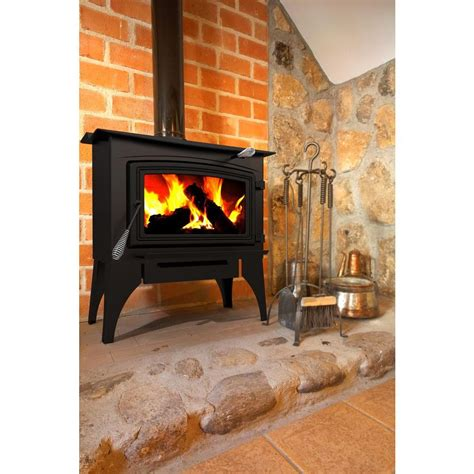 pleasant hearth 1 800 sq ft epa certified wood burning