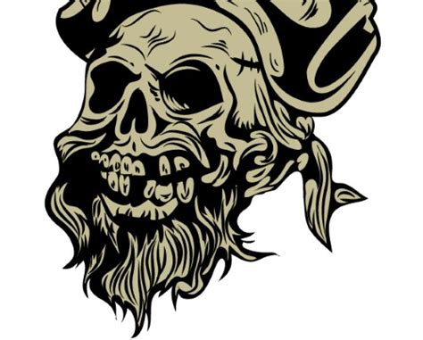 illustrator tutorial pirate illustrator tutorial vintage pirate skull emblem
