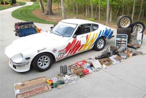 Datsun 240z Race Car For Sale by 1970 Datsun 240z Its Vintage Race Car And Spares Package