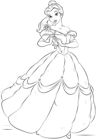 printable coloring pages belle belle coloring page free printable coloring pages