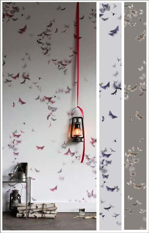 Papier Peint Motif Papillon 2271 by Papier Peint Design Avec Oiseaux Trove