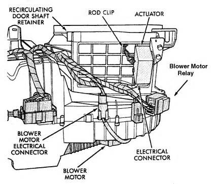 jeep grand cherokee limited blower fan engine shut off i