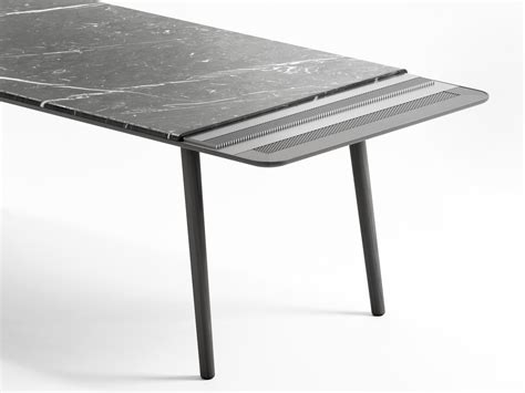 Limestone Dining Table Arin Rectangular Table By Retegui Design Jean Louis Iratzoki