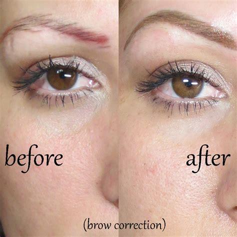 tattoo eyebrows correction permanent eyebrow correction sheila bella permanent