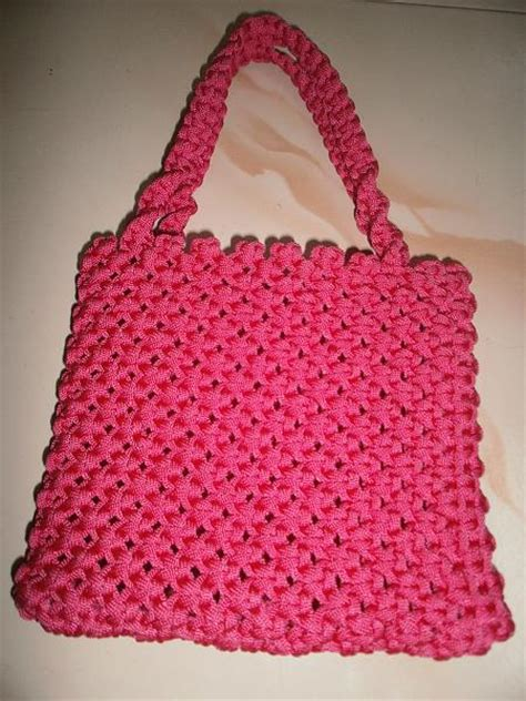 How To Make A Macrame Purse - macrame purse