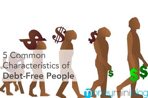 common characteristics  debt  people