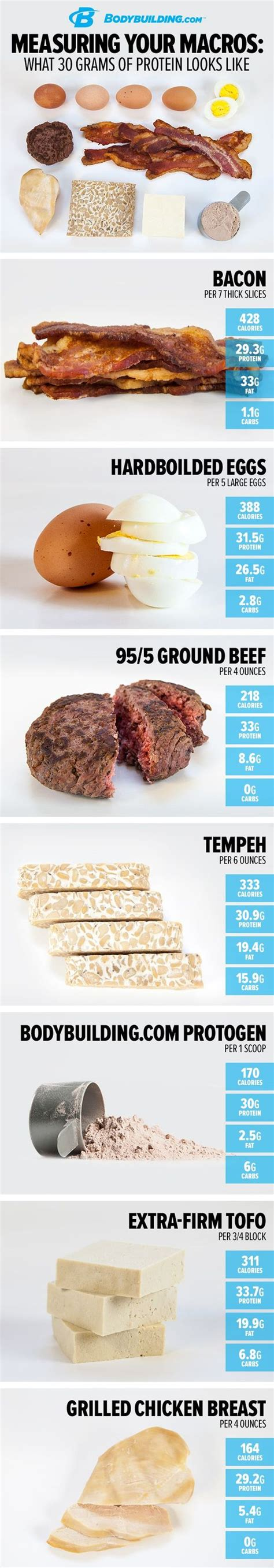 protein 30 grams what exactly 30 grams of protein looks like