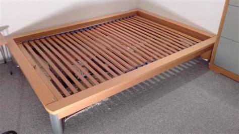 gebrauchte matratzen 140x200 franz bett now by h 252 lsta buche massiv 140x200 cm in