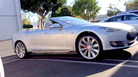 Convertible Tesla Model S Image Tesla Model S Convertible By Newport Convertible