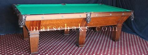 antique brunswick pool tables antique pool tables for sale