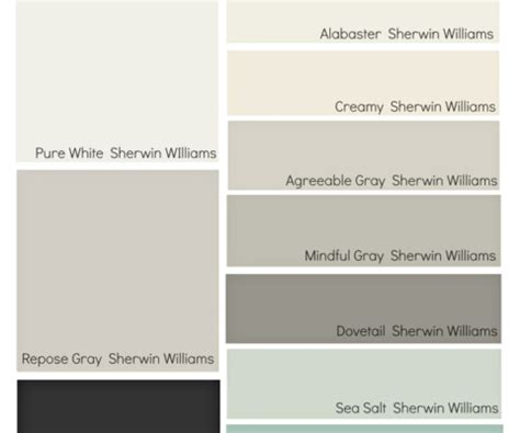 most popular paint colors most popular sherwin williams colors color palettes archives