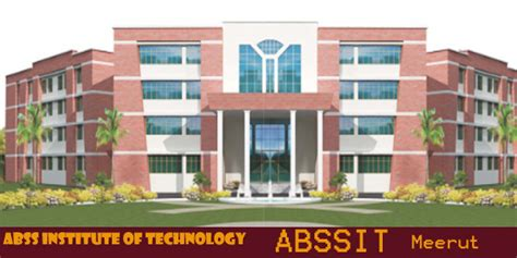 Institute Of Technology Mba Cost abss institute of technology abssit meerut mba fees