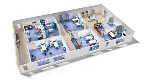 Free Floor Plan Builder 3d hospital floor plans buscar con google recursos de