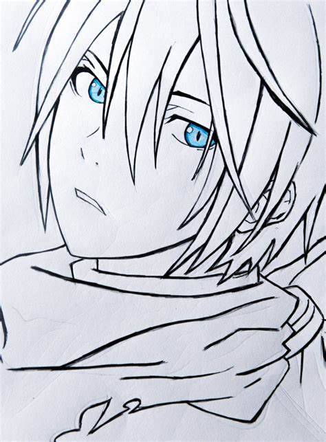 The Draw Yato By Amartyagogoi On Deviantart