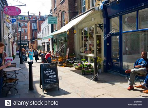 walking village london original 184773801x spring london hstead village flask walk mews lane typical old stock photo royalty free image