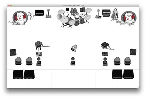 stage plot template radiotrs stage