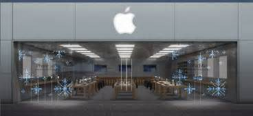 Store Us Mesmerizing Front Window Displays Going Up At Apple Stores