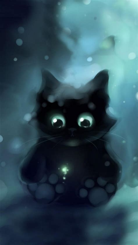 wallpaper galaxy cat galaxy cat iphone wallpaper wallpapersafari