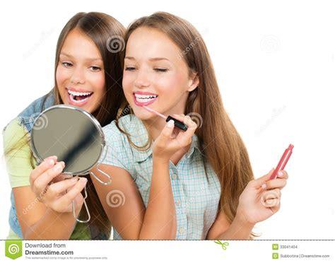 imagenes de jovenes libres adolescentes bonitos foto de archivo imagen de maquillaje
