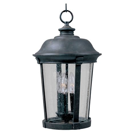 Outdoor Suspended Lighting Maxim Lighting Dover Dc Bronze Outdoor Hanging Light 3029cdbz Destination Lighting