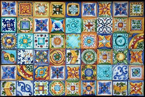 pittura su piastrelle piastrelle siciliane ceramics in 2019 piastrelle